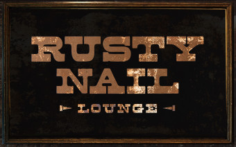 Rusty Nail Lounge Logo